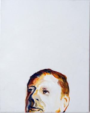 Study for a portrait - Giorgio DC - oil on canvas 40x50cm, 2017