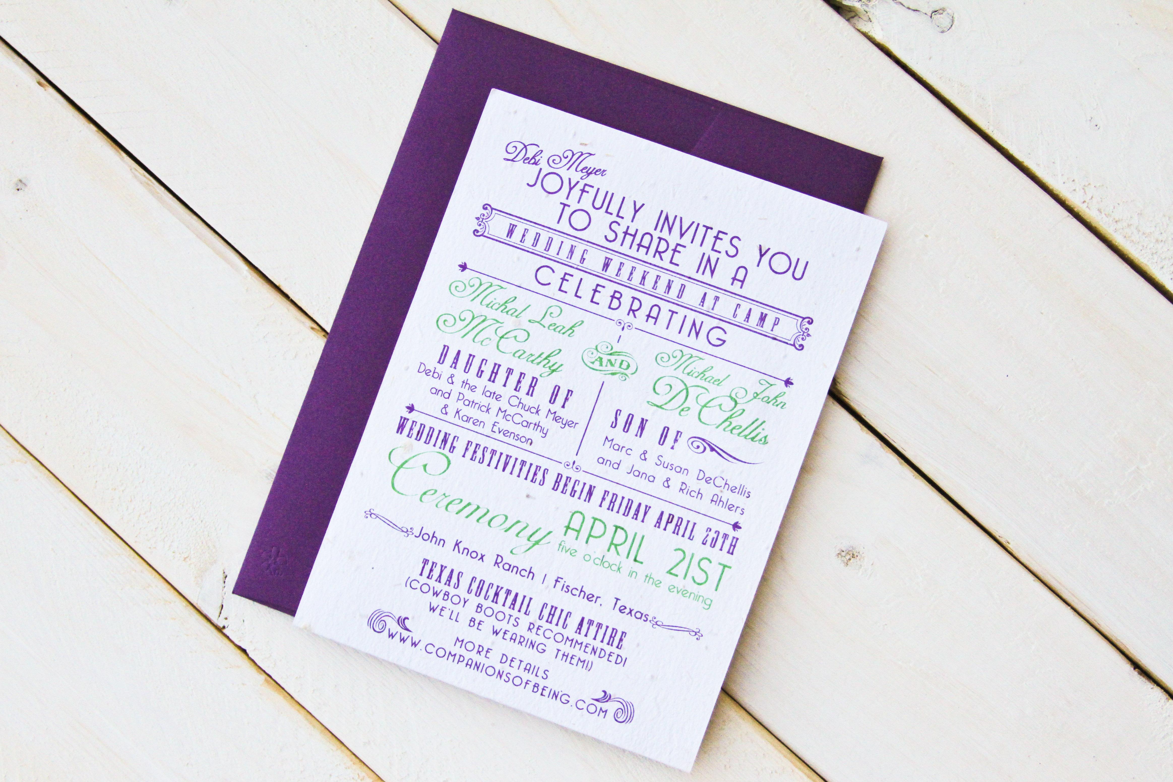 Seed Paper Invitaiton