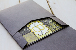 Pocket Envelope Wedding Invitation