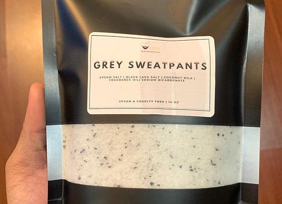 Grey sweatpants- Muscle Soak