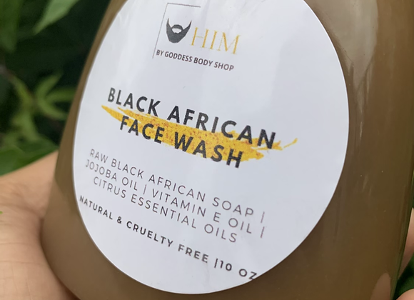 Black African Face Wash