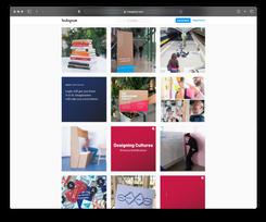 Overzicht van Instagram