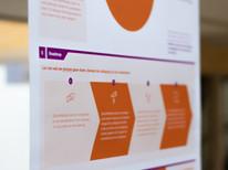 Een close-up van de oplevering voor Slachtofferhulp NL