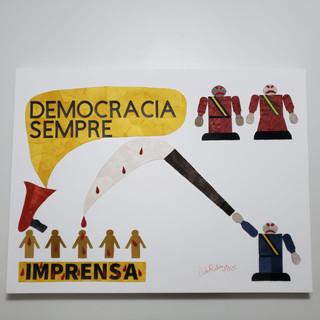 PRESIDENTE DO BRASIL E A IMPRENSA - 2020