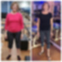 Before + After... proud pilates instruct