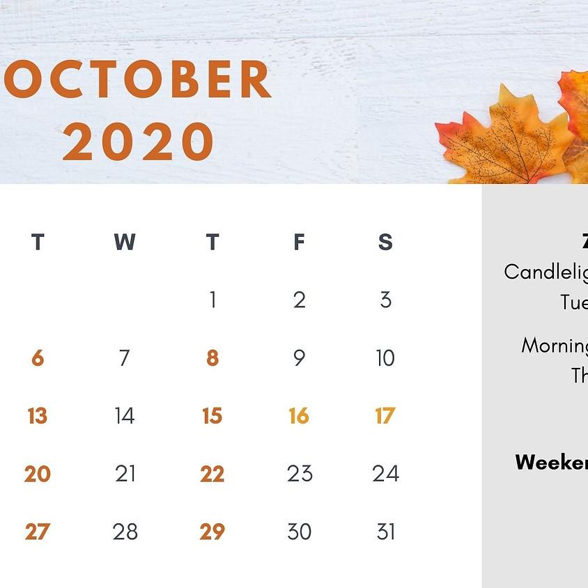 October 2020 Mindfulness Challenge