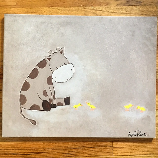 baby room canvas