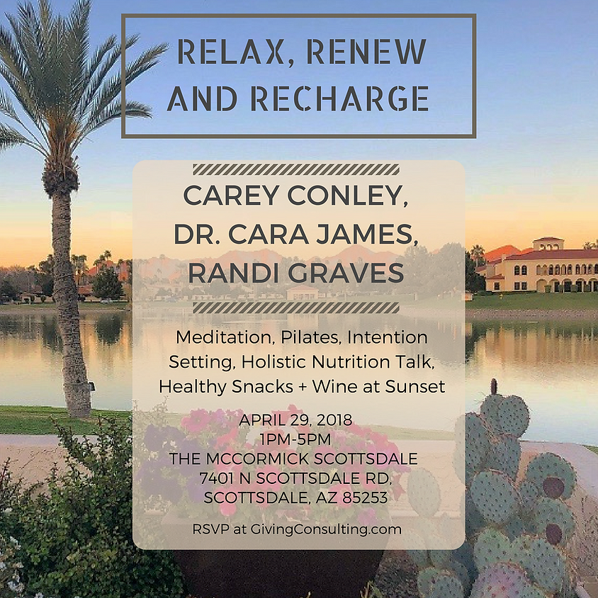 Relax, Renew, Recharge