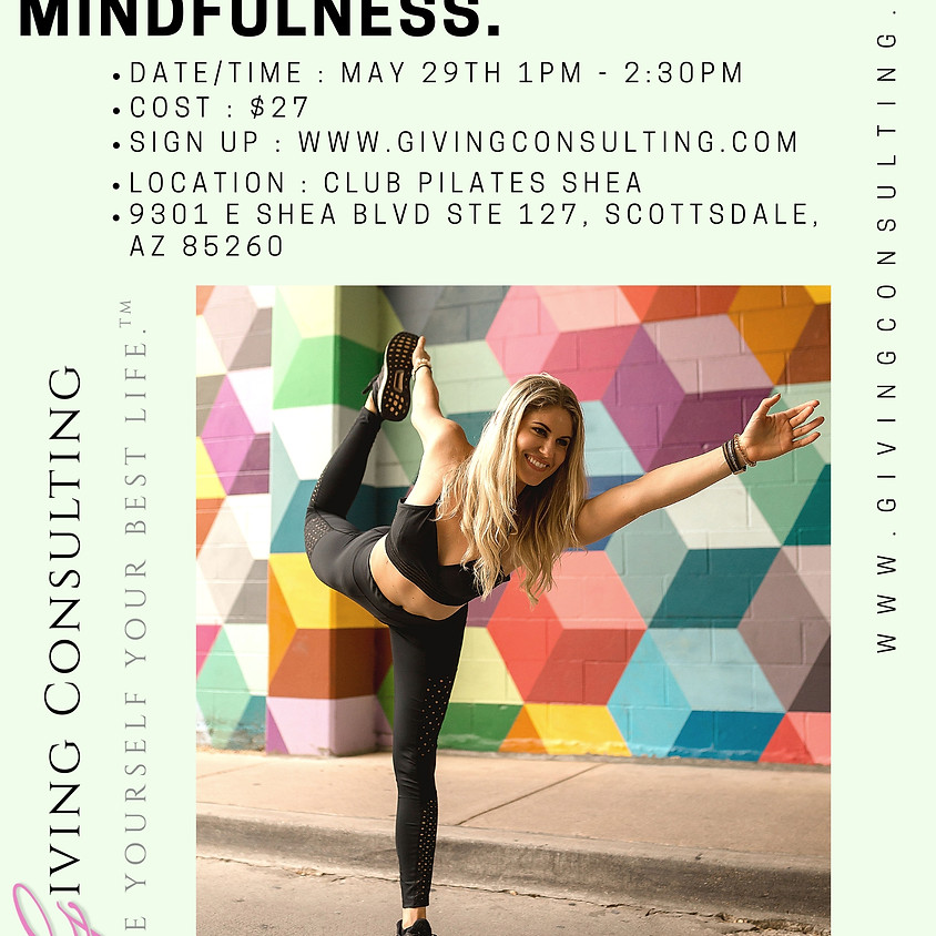 Pilates. Self-Care. Mindfulness.