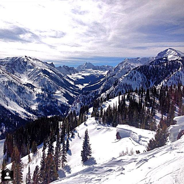 Aspen Snowmass mountain photograph