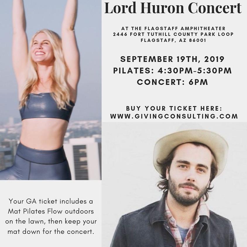 Lord Huron Concert + Pilates Flow