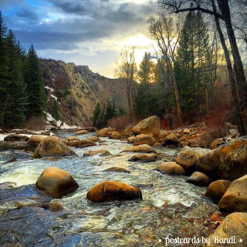 Roaring Fork River - Aspen, CO, USA