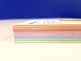 Prototype - Multiloft cards with colour core