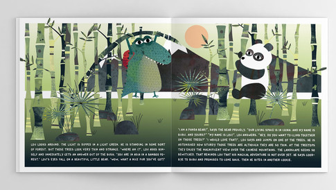 Spread 'Bamboo forest'