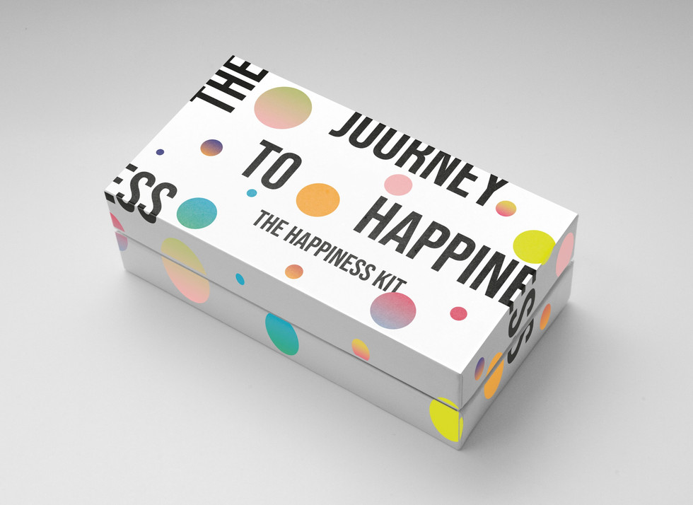 The Happiness Kit - Packaging