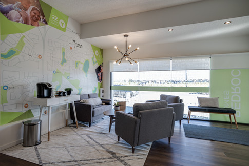 College Woods Showhome Decals