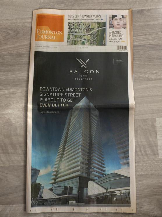 Falcon Towers - Edmonton Journal