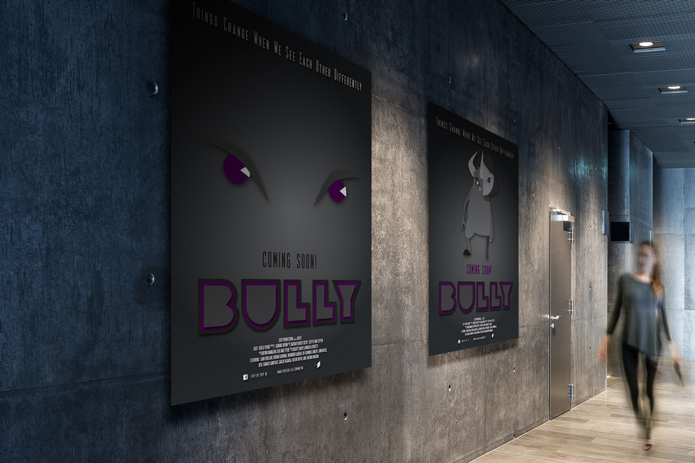 Bully Short Animated Movie Poster
