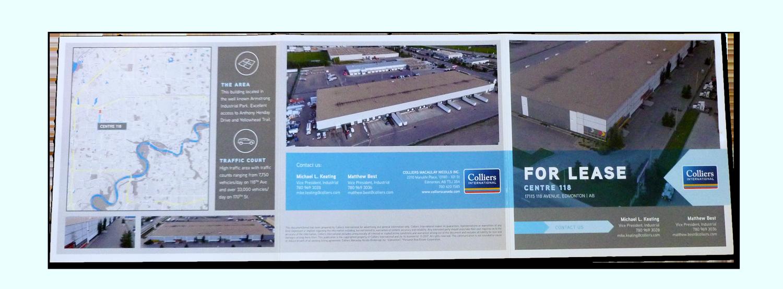 Centre 118 Tri-Fold Brochure