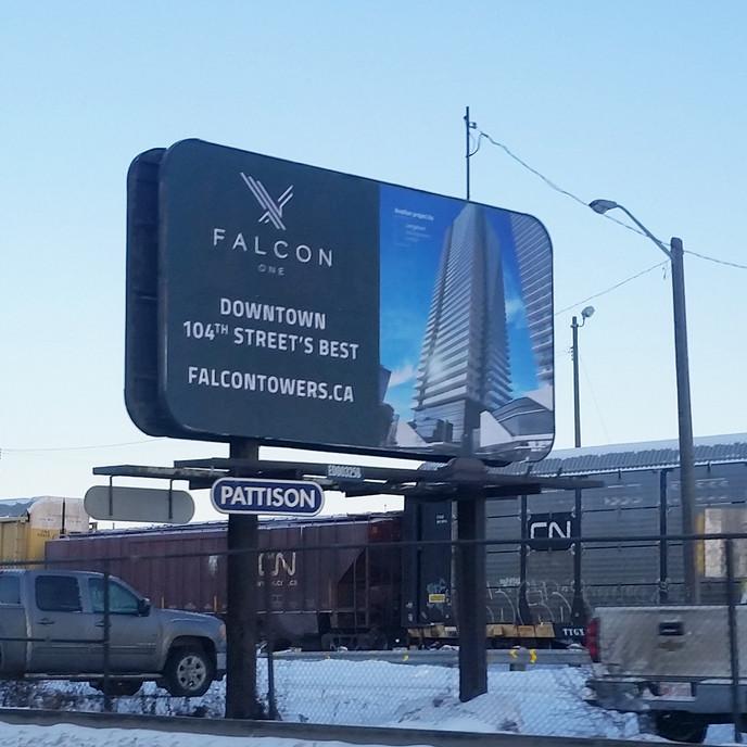 Falcon Billboard
