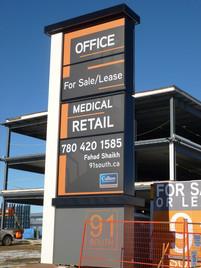 91 South Sales Pylon Sign