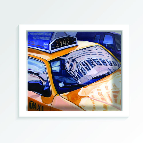 """HDR TAXI (18x24"""")"""