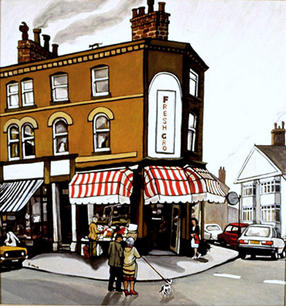 Corner Shop, UK.