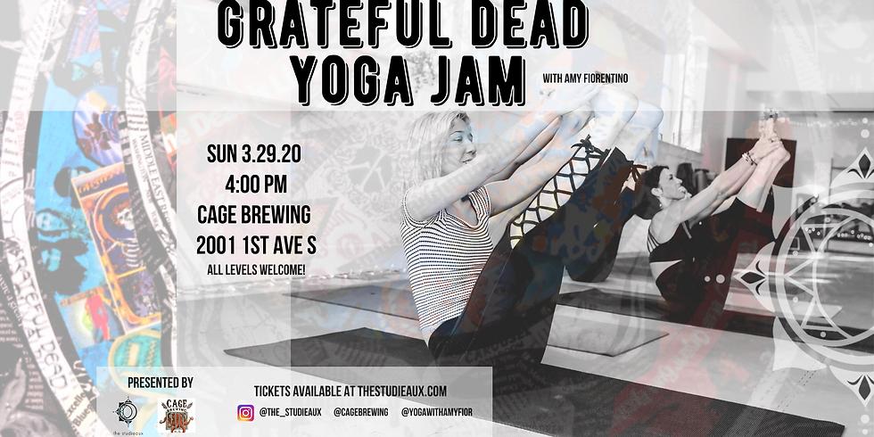 Grateful Dead Yoga Jam @ Cage Brewing