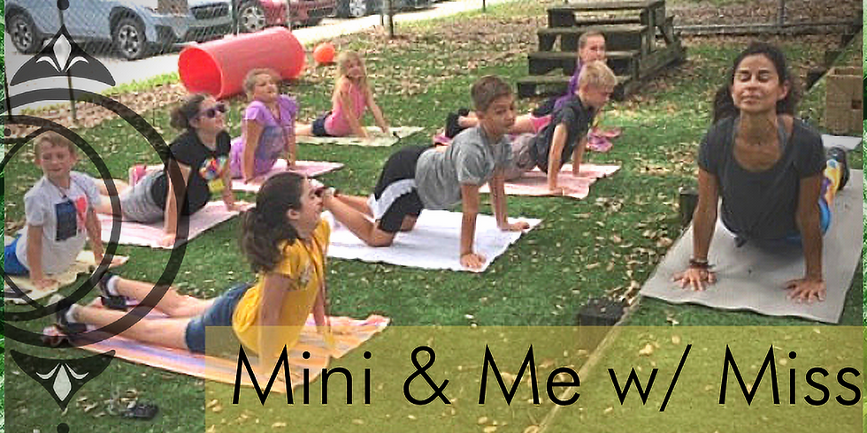 Mini & Me w/ Miss Juli!