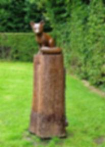 Alloway Robert Burns Poets Path Glenriddell's Fox
