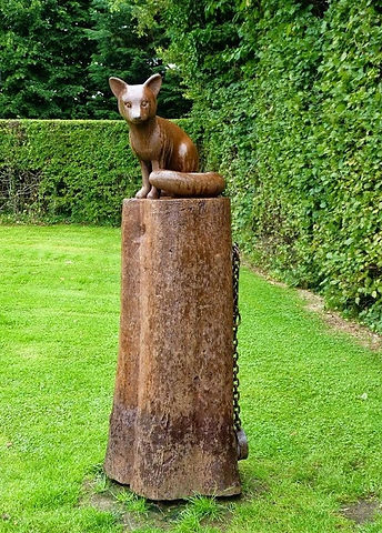 Alloway Robert Burns Poets Path Glenriddell's Fox