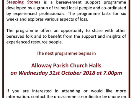 Stepping Stones Bereavement Support