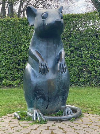 Alloway Robert Burns Poets Path To A Mouse Bronze Mouse