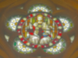 Houldsworth Window top Cinquefoil Christ in GloryLarge 2012007