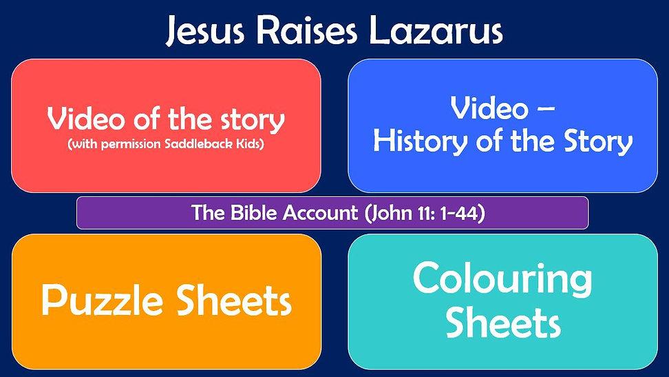 Jesus Raises Lazarus - Layout.JPG