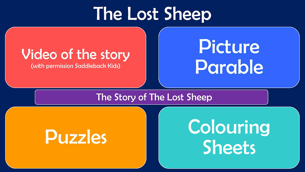 Youth Web Page Layout - The Lost Sheep-p