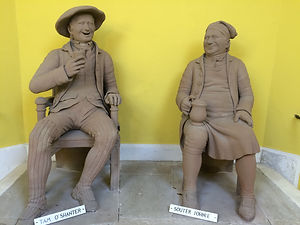 RB - 044 Statues of Tam O'Shanter and So