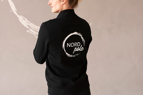 NORDpole - College Jacket - Black
