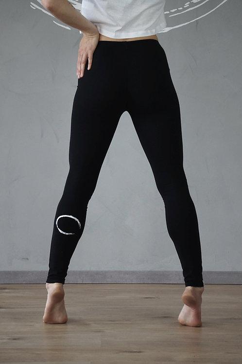 NORDpole - Leggings - Circle - Black