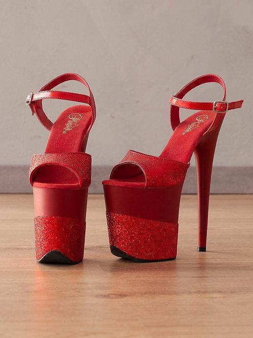 PLEASER - High Heels - FLAMINGO-809-2G - Rubinrot