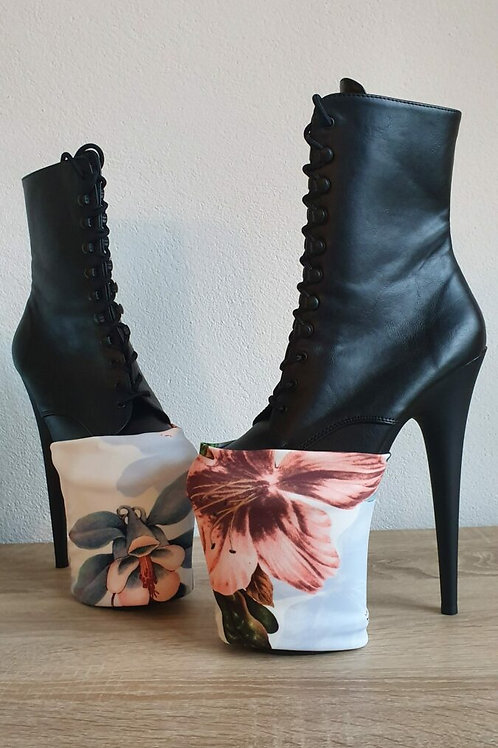 HEEL HELDIN - Heel Cover - Spring Flowers Heelcover x Sparkle Heels Limited Edit