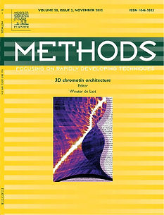 Elsevier Methods cover design scientific illustration