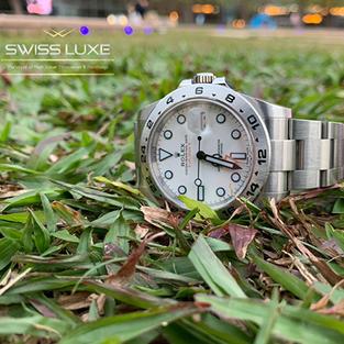 Discontinued Rolex Explorer II white dial – 216570