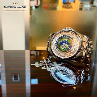 Discontinued Patek Philippe World Time Platinum - 5131/1P