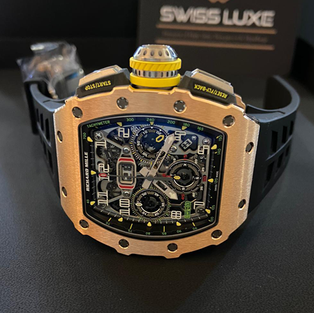 Richard Mille Rafael Nadal Signature Red Quartz-TPT Watch RM35-02