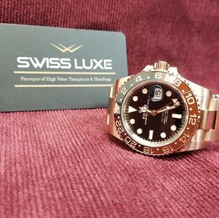 Rolex Everose Gold GMT-Master II – 126715CHNR