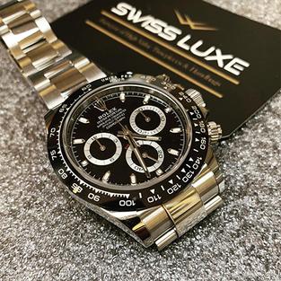 Rolex Oystersteel Black dial Cosmograph Daytona – 116500LN