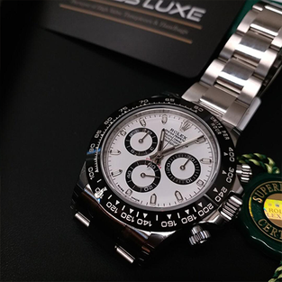 Rolex Oystersteel white dial Cosmograph Daytona – 116500LN