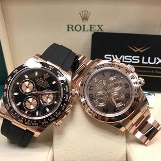 Rolex Yellow Gold & Rose Gold Daytona's – 116515LN & 116505