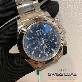 Rolex White Gold Cosmograph Daytona – 116509